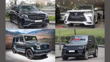 Top 10 Mẫu ô tô SUV hạng sang đắt nhất tại Việt Nam hiện nay