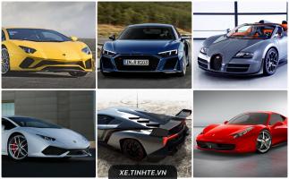 Top 10 Siêu xe được tìm kiếm nhiều nhất trên Google hiện nay
