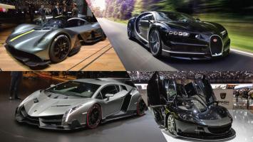 Top 10 Siêu xe có giá trị đắt nhất thế giới năm 2018