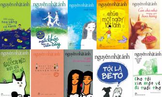 Top 8 Sách bán chạy nhất của tác giả Nguyễn Nhật Ánh